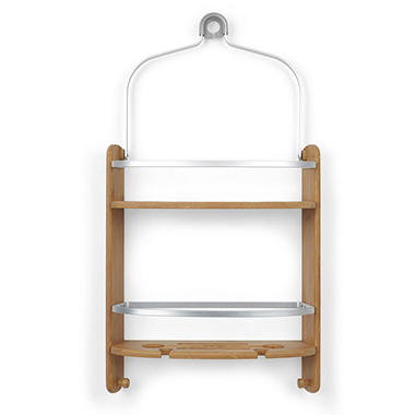 Umbra Rust Resistant Bamboo Shower Caddy