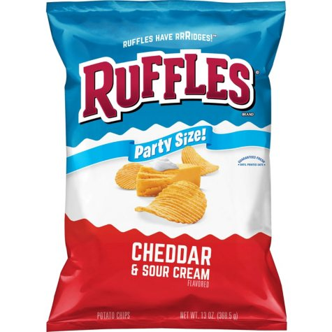 Ruffles Cheddar and Sour Cream Potato Chips (13 oz.)
