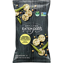 Off the Eaten Path Chickpea Veggie Crisps Snacks (19 oz.)