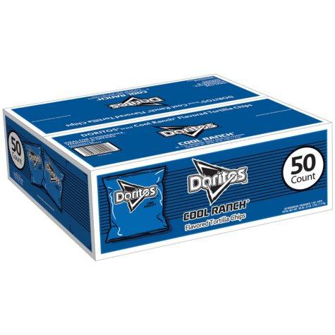 Doritos Cool Ranch Chips (1 oz., 50 ct.)