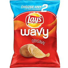 Lay's Wavy Original Potato Chips (16.5 oz.)