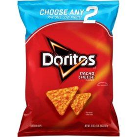 Doritos Nacho Cheese Tortilla Chips (20 oz.)