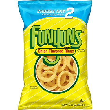 Funyuns Onion Flavored Snacks (9.25 oz.)