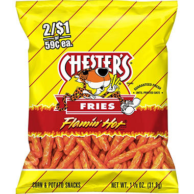 Chester's Flamin' Hot Fries (1.125 oz., 28 ct)