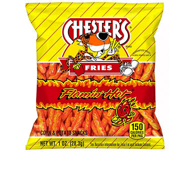 Chesters Hot Fries - 1 oz. - 50 ct.