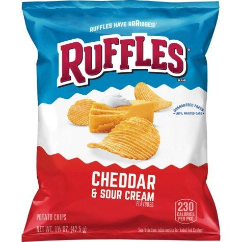 Ruffles Cheddar & Sour Cream Potato Chips (1.5 oz., 30 ct.)