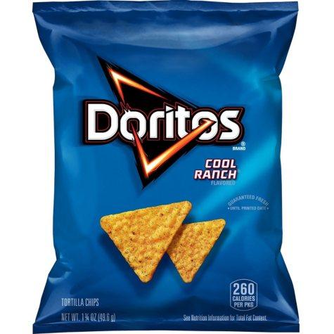 Doritos Cool Ranch Flavored Tortilla Chips (1.75 oz., 30 ct.)