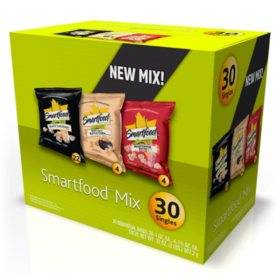 Smartfood Popcorn Snack Mix Variety Pack (30 ct.)