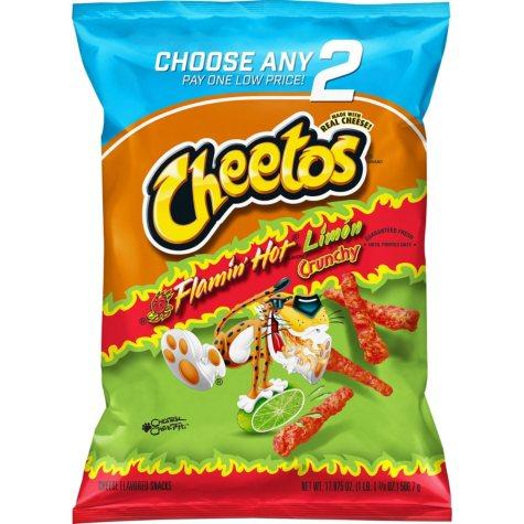 Cheetos Crunchy Flamin' Hot Limon (17.875 oz.)