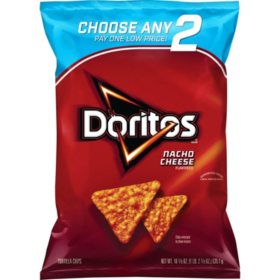Doritos Nacho Cheese Tortilla Chips (18.875 oz.)
