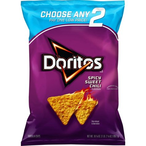 Doritos Spicy Sweet Chili Flavored Tortilla Chips (18.875 oz.)