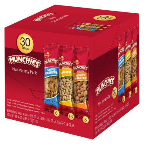 Munchies Nut Variety Pack - 30 pk.