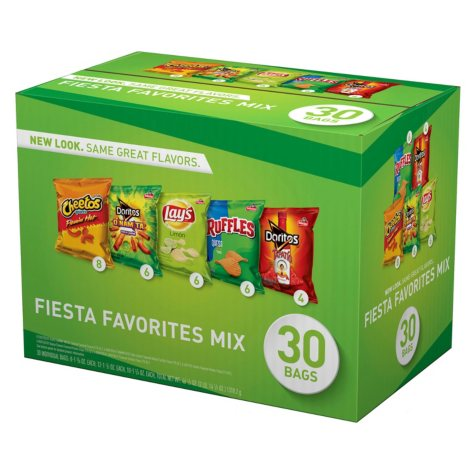 OFFLINE-Frito-Lay Fiesta Mix Chips and Snacks Variety Pack (30 ct.)