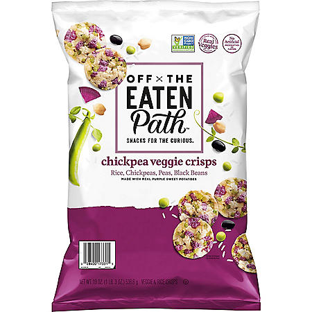 Off The Eaten Path Chickpea Veggie Crisps (19 oz.)