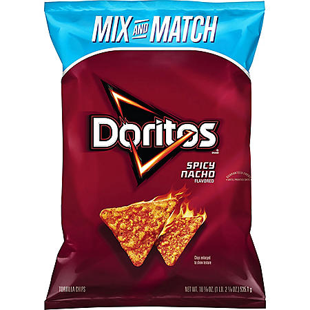 Doritos Spicy Nacho Tortilla Chips (18.875 oz.)