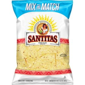 Santitas White Corn Tortilla Chips (24 oz.)