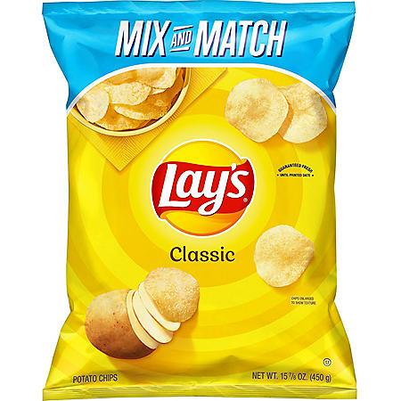 Lay's Classic Potato Chips (15.875 oz.)