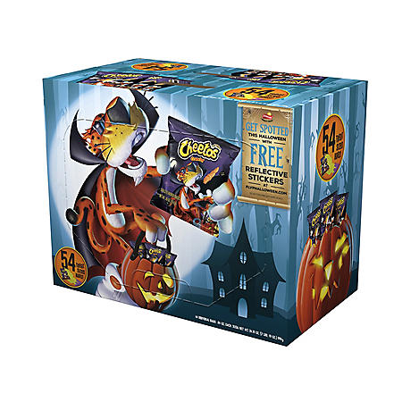 Cheetos Halloween Trick or Treat Pack (0.65 oz., 54 ct.)