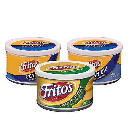 Fritos Dips Variety Pack (9 oz., 3 ct.)
