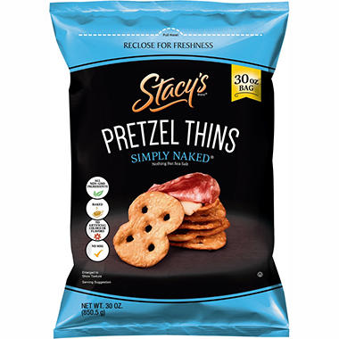 Stacy's Simply Naked Pretzel Thins (30 oz.)