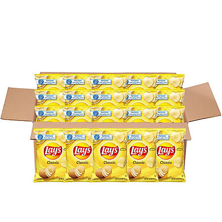 Lay's Classic Potato Chips (2.625 oz. ea., 20 ct.)