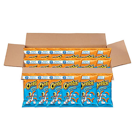 Cheetos Puffs Cheese Snacks (3 oz., 18 ct.)