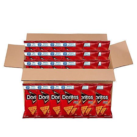 Doritos Nacho Cheese Tortilla Chips (3 oz. ea., 24 ct.)
