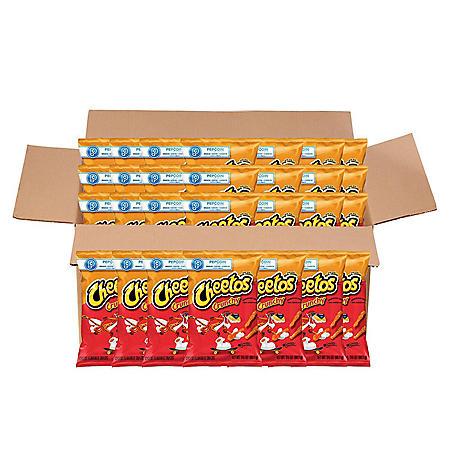 Cheetos Crunchy Cheese Snacks (3.5  oz. ea., 28 ct.)