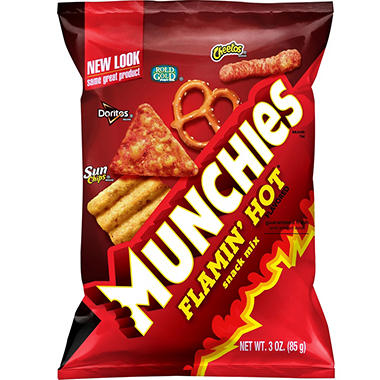 Munchies Flamin' Hot Snack Mix (3 oz. ea., 24 ct.)