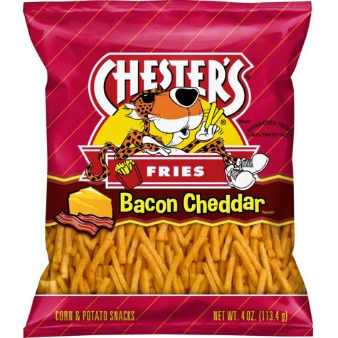 Chester's Bacon Cheddar Fries (4 oz., 20 ct.)