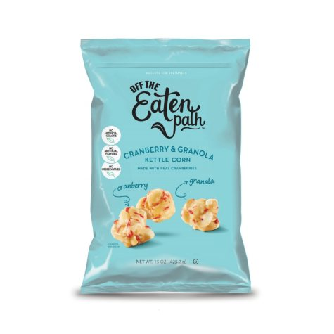 Off the Eaten Path Fruit and Granola Kettle Popcorn (15 oz.)