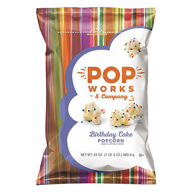 Popworks And Company Birthday Cake Popcorn 24 Oz