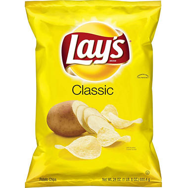Lay's Classic Potato Chips (24 oz.)