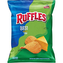 Ruffles Queso Cheese Potato Chips (24.375 oz.)