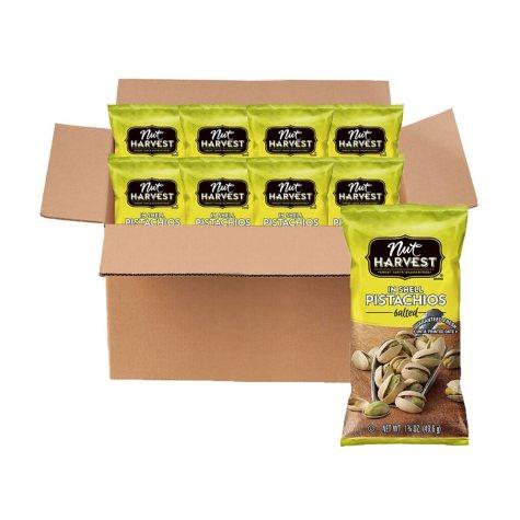 Nut Harvest Pistachios (1.75 oz. ea., 8 pk.)