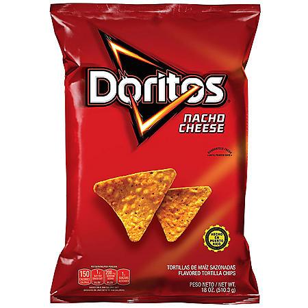 Doritos Nacho Cheese Tortilla Chips (17.12 oz.)