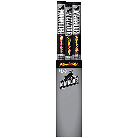 Matador Flamin' Hot Beef Jerky Snack Sticks (1 oz., 15 ct.)