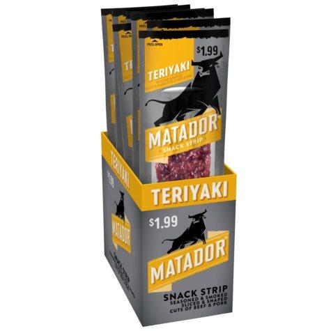 Matador Teriyaki Snack Strip (8 ct.)