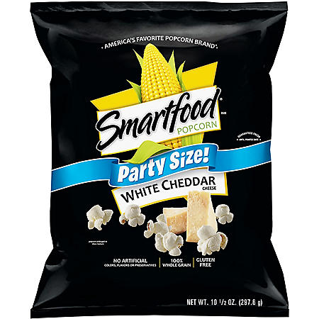 Smartfood White Cheddar Popcorn Party Size (9.8oz.)