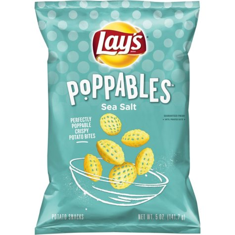 OFFLINE-Lay's Poppables Sea Salted Crispy Potato Chips (5 oz.)