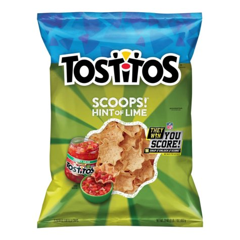Tostitos Scoops! Hint of Lime Tortilla Chips (23 oz.)