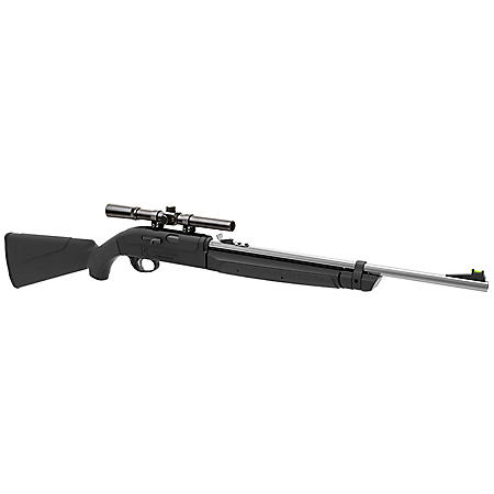 Remington Airmaster .177 Caliber Multi-Pump Air Rifle with Scope, 1,000fps