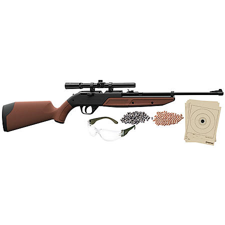 Crosman 760 Pumpmaster Bundle .177 Caliber Multi-Pump Air Rifle with Scope