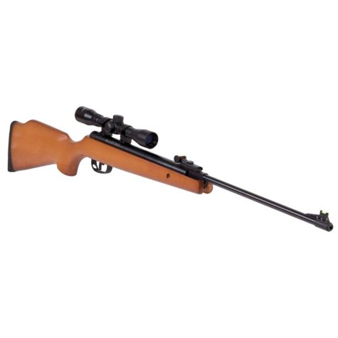 Crosman Optimus Break Barrel Air Rifle with Scope - Choose Your Caliber