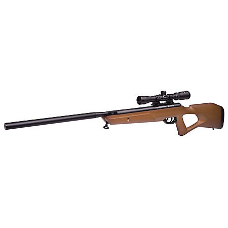 Benjamin Trail NP2 Hardwood .22 Caliber Break Barrel Air Rifle with Scope, 1,100fps