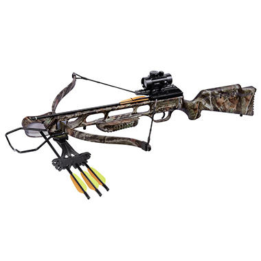 CenterPoint XR175 Recurve Crossbow Bundle (Camo)