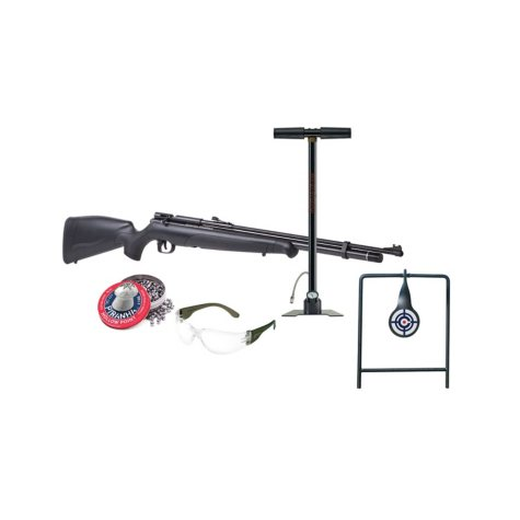 Benjamin Maximus .22 Caliber PCP Powered Air Rifle Kit with Hand Pump and Accessories