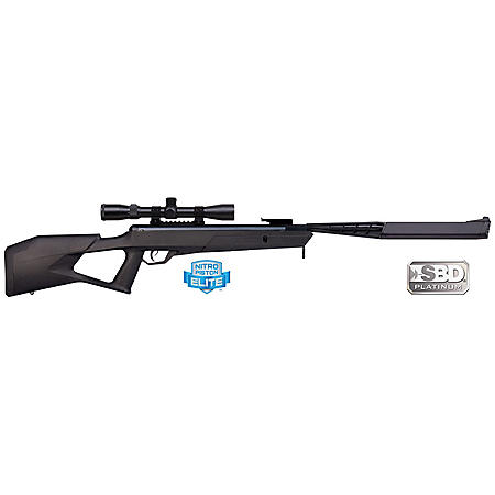 Benjamin Trail SBD Stealth All-Weather .177 Caliber NP Break Barrel Air Rifle with Scope, 1400fps