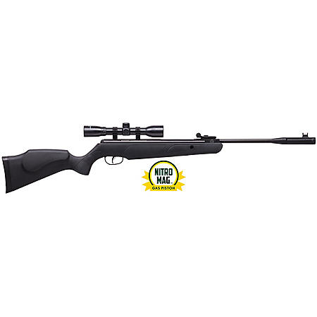 Remington Express Hunter .177 Caliber Nitro Mag Break Barrel Air Rifle with Scope, 1200fps