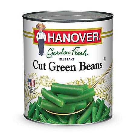 Hanover Cut Green Beans (101 oz.)